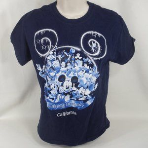 Disneyland Kids Small California Character T-shirt